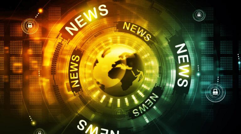 News Broadcast Title